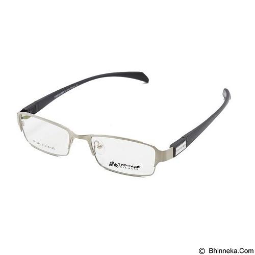 SAMBOGA Kacamata [1029] - Silver Black (Merchant) - Kacamata Frame