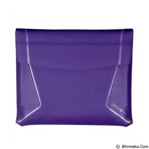 SAMSONITE iPad Thermo Tech Sleeve [SIPADC-C2] - Purple (Merchant) - Sleeve Tablet