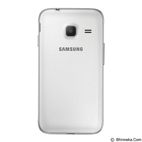 SAMSUNG Galaxy J1 Mini [J105F/DS] (8GB/768MB RAM) - White (Merchant) - Smart Phone Android