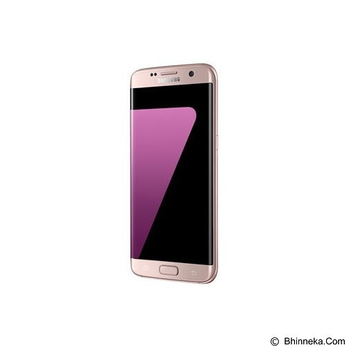 SAMSUNG Galaxy S7 Edge - Pink Gold/Rose Gold (Merchant) - Smart Phone Android