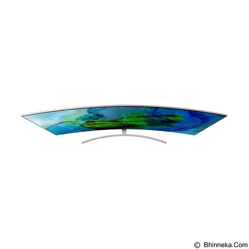 SAMSUNG 75 Inch QLED Curved Smart TV UHD [QA75Q8C] - Televisi / Tv Lebih Dari 55 Inch