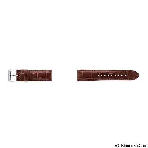 SAMSUNG Alligator Strap for Samsung Gear S3 - Brown (Merchant) - Casing Smartwatch / Case