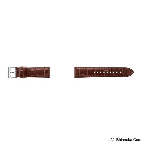 SAMSUNG Alligator Strap for Samsung Gear S3 - Brown (Merchant) - Casing Smartwatch / Case