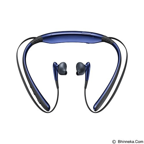 SAMSUNG Bluetooth Headset Level U - Blue Black (Merchant) - Headset Bluetooth
