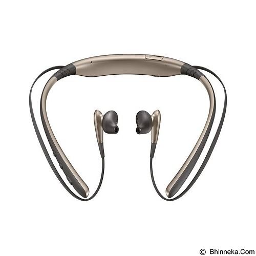 SAMSUNG Bluetooth Level U [EO-BG920BFEGWW] - Gold - Headset Bluetooth