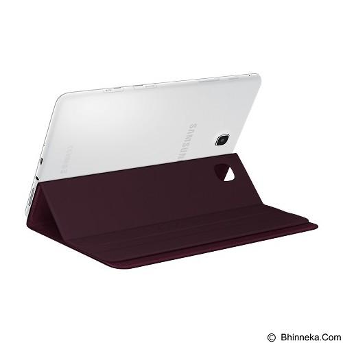 SAMSUNG Book Cover for Galaxy Tab 8.0 [EF-BT350WQEGWW] -  Velvet  Wine - Casing Tablet / Case