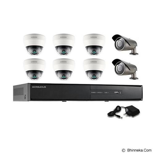 SAMSUNG CCTV PAKET BEYOND SERIES 1000 TVL [IO62] - Cctv Camera
