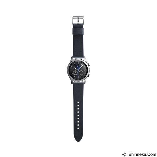SAMSUNG Classic Strap for Samsung Gear S3 - Navy Blue (Merchant) - Casing Smartwatch / Case
