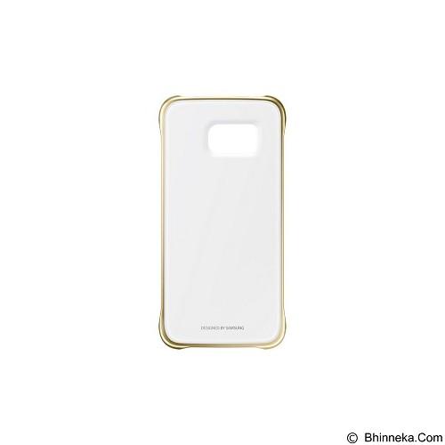 SAMSUNG Clear Case for Galaxy S6 [EF-QG920BFEGWW] - Gold - Casing Handphone / Case