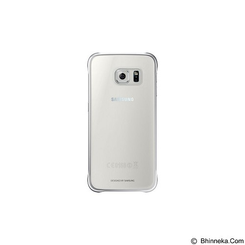 SAMSUNG Clear Case for Galaxy S6 [EF-QG920BSEGWW] - Silver - Casing Handphone / Case