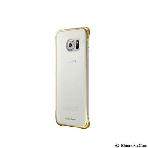 SAMSUNG Clear Case for Galaxy S6 - Gold (Merchant) - Casing Handphone / Case