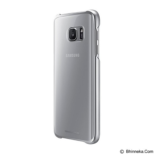 SAMSUNG Clear Cover Protective Case for Galaxy S7 - Silver - Casing Handphone / Case