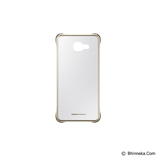 SAMSUNG Clear Cover for Galaxy A5 2016 [EF-QA510CFEGWW] - Gold - Casing Handphone / Case
