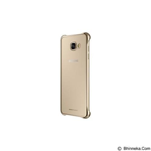 SAMSUNG Clear Cover for Galaxy A7 2016 [EF-QA710CFEGWW] - Gold - Casing Handphone / Case
