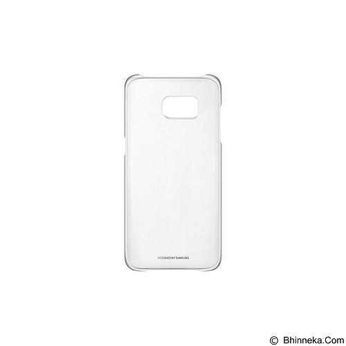 SAMSUNG Clear Cover for Galaxy S7 Edge [EF-QG935CSEGWW] - Silver - Casing Handphone / Case