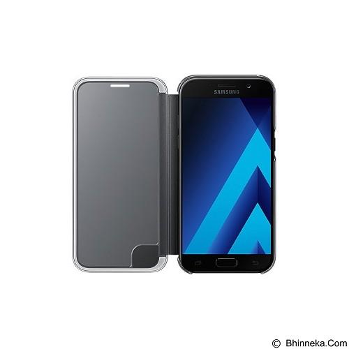 SAMSUNG Clear View Cover for Samsung Galaxy A5 (2017) [EF-ZA520CBEGWW] - Black - Casing Handphone / Case