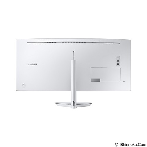SAMSUNG Curved LED Monitor 34 Inch [C34F791WQE] - Monitor Led Above 20 Inch