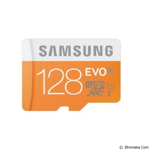 SAMSUNG Evo Micro SD 128GB With Adaptor - Micro Secure Digital / Micro Sd Card