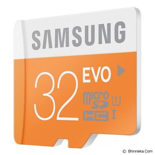 SAMSUNG Evo Micro SD 32GB No Adaptor - Micro Secure Digital / Micro Sd Card
