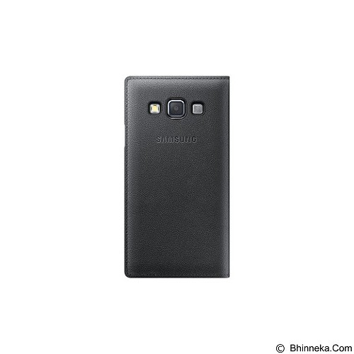 SAMSUNG Flip Cover for Galaxy A3 [EF-FA300BCEGWW] - Charcoal Gray - Casing Handphone / Case