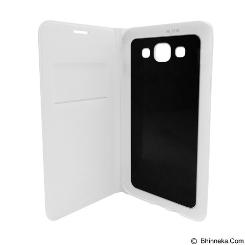 SAMSUNG Flip Wallet for Galaxy E5 - White (Merchant) - Casing Handphone / Case