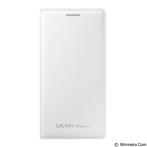 SAMSUNG Flip Wallet for Galaxy Grand Prime - White (Merchant) - Casing Handphone / Case