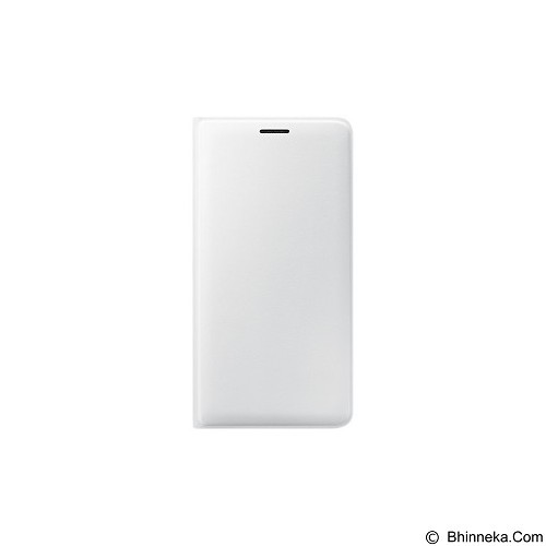 SAMSUNG Flip Wallet for Galaxy J3 2016 [EF-WJ320PWEGWW] - White - Casing Handphone / Case
