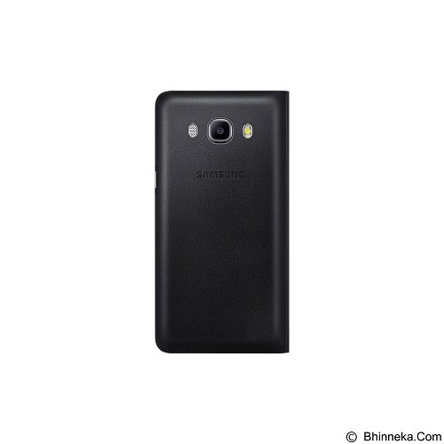 SAMSUNG Flip Wallet for Galaxy J5 2016 [EF-WJ510PBEGWW] - Black - Casing Handphone / Case