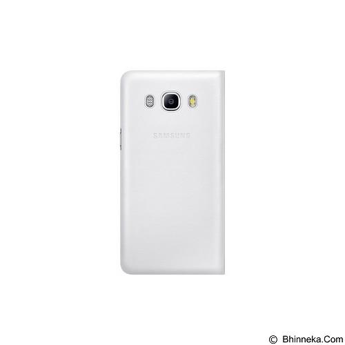 SAMSUNG Flip Wallet for Galaxy J5 2016 [EF-WJ510PWEGWW] - White - Casing Handphone / Case