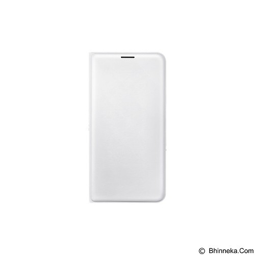SAMSUNG Flip Wallet for Galaxy J7 2016 [EF-WJ710PWEGWW] - White - Casing Handphone / Case