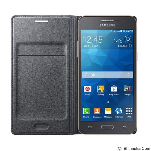 SAMSUNG Flip Wallet for Galaxy Prime - Black (Merchant) - Casing Handphone / Case