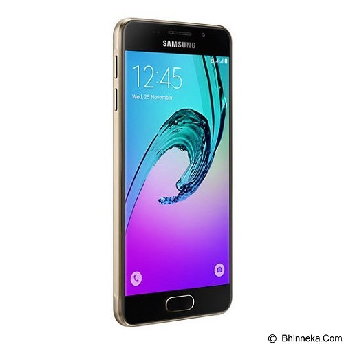 SAMSUNG Galaxy A3 [SM-A310] - Gold (Merchant) - Smart Phone Android