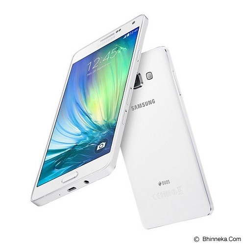 SAMSUNG Galaxy A7 Duos - White - Smart Phone Android