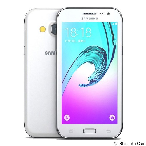 SAMSUNG Galaxy J3 [J320] - White (Merchant) - Smart Phone Android