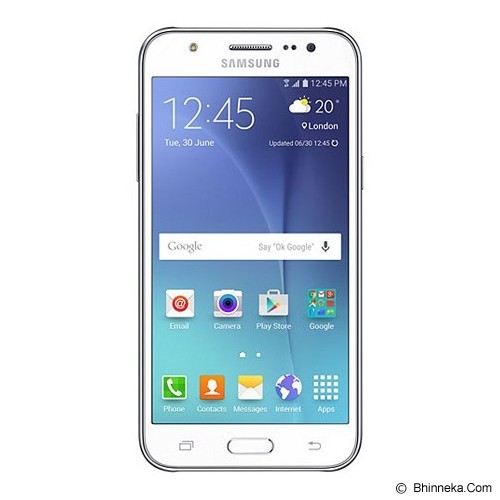 SAMSUNG Galaxy J5 - White (Merchant) - Smart Phone Android