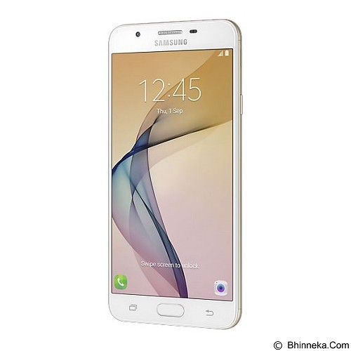 SAMSUNG Galaxy J7 Prime (32GB/3GB RAM) [SM-G610] - Gold/White Gold (Merchant) - Smart Phone Android