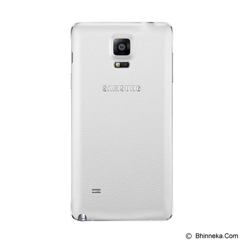 SAMSUNG Galaxy Note 4 [N910] - Frosted White - Smart Phone Android