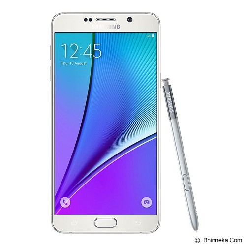 SAMSUNG Galaxy Note 5 - White Pearl - Smart Phone Android