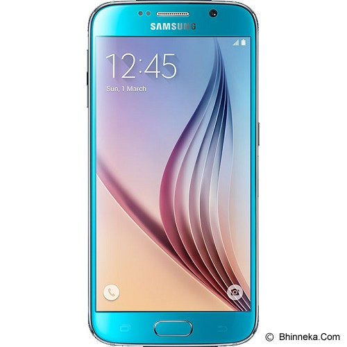SAMSUNG Galaxy S6 - Blue Topaz - Smart Phone Android