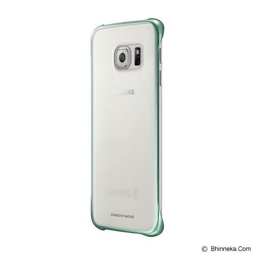 SAMSUNG Galaxy S6 Edge Clear Cover Case - Green (Merchant) - Casing Handphone / Case