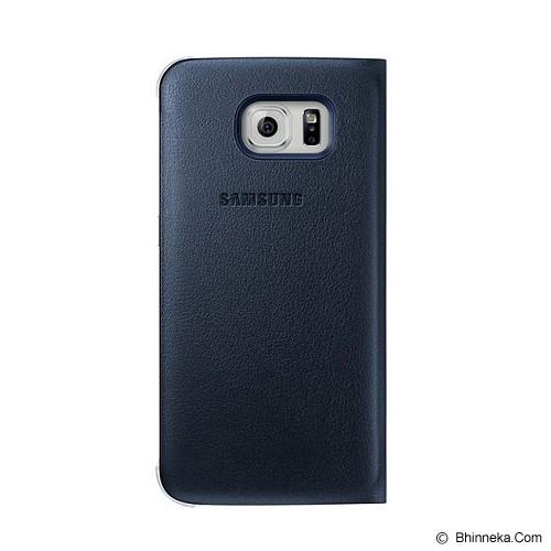 SAMSUNG Galaxy S6 S-View Flip Cover Case - Black - Casing Handphone / Case
