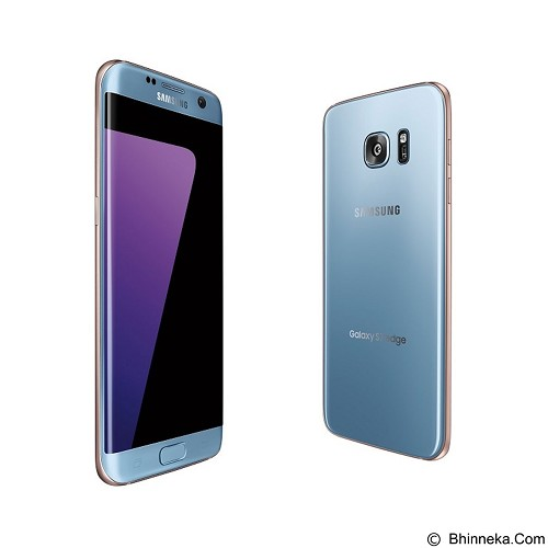 SAMSUNG Galaxy S7 Edge - Coral Blue (Merchant) - Smart Phone Android