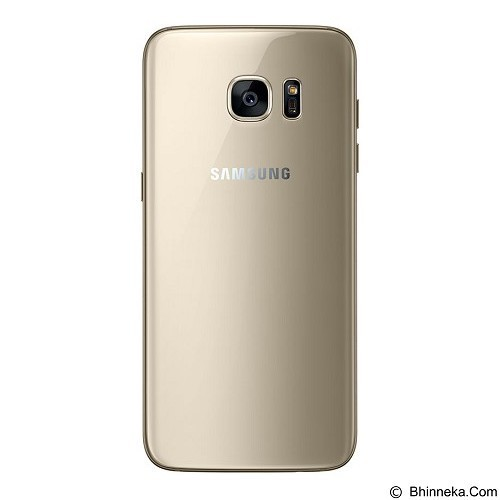 SAMSUNG Galaxy S7 Edge - Gold Platinum (Merchant) - Smart Phone Android