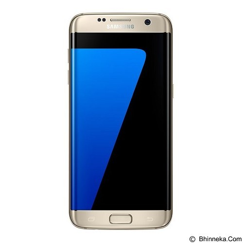 SAMSUNG Galaxy S7 Edge - Gold Platinum - Smart Phone Android