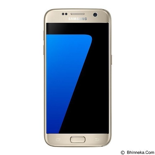 SAMSUNG Galaxy S7 - Gold Platinum (Merchant) - Smart Phone Android