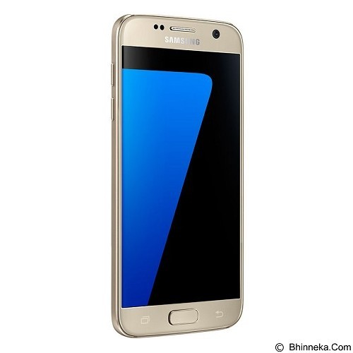 SAMSUNG Galaxy S7 - Gold Platinum - Smart Phone Android