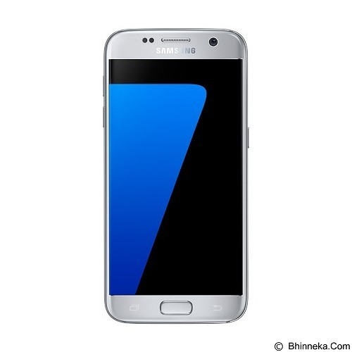 SAMSUNG Galaxy S7 - Silver Titanium (Merchant) - Smart Phone Android