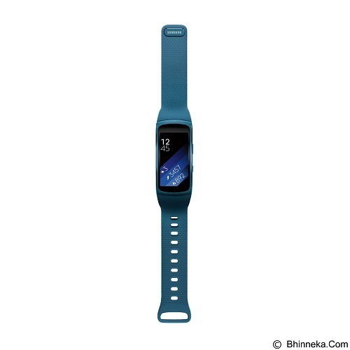 SAMSUNG Gear Fit2 Long Strap [SM-R3600DANXSE] - Blue (Merchant) - Smart Watches