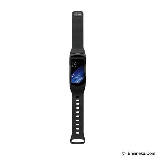 SAMSUNG Gear Fit2 Short Strap [SM-R3600DANXSE] - Dark Grey - Smart Watches