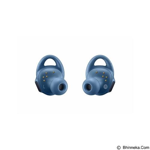 SAMSUNG Gear IconX Blue + Gear Fit2 Black Long Strap - Earphone Ear Bud